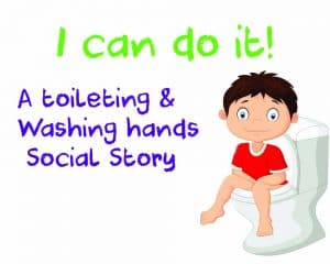 Toileting social story autism